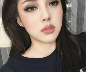 pony, korean, and makeup image