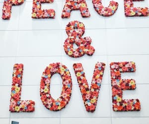 peace and love image