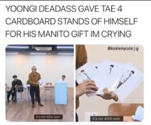 meme, bts, and yoongi image