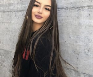 girl, fashion, and make up image