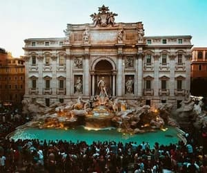 italia, roma, and fontana di trevi image