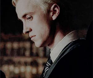 gif, draco malfoy, and harry potter image