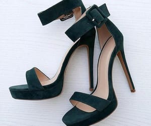 fashion, green, and footwear image