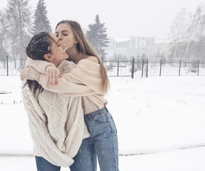 bff, freezing, and love image