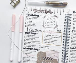 bullet journal, motivation, and cute image