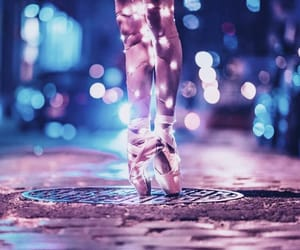 light, ballet, and dance image