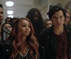 cole sprouse, riverdale, and vanessa morgan image