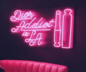 light, neon, and dior image