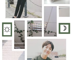 aesthetics, j hope, and Collage image