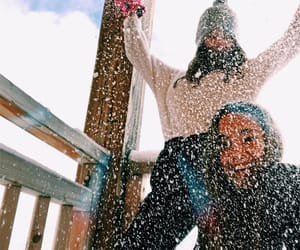 cold, fun, and girls image