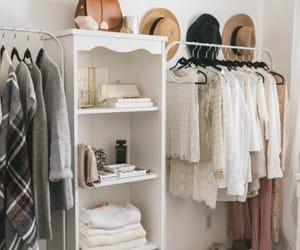 closet, home, and decor image