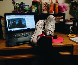 chill, chilling, and college image