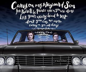 chevrolet, dean winchester, and fanart image
