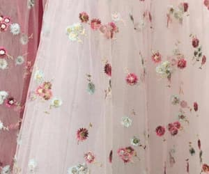 pink, fashion, and flowers image