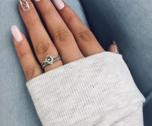 glamour, jewelry, and nails image