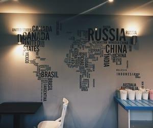 coffee, date, and globe image