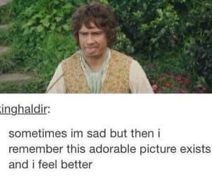 funny, the hobbit, and Martin Freeman image