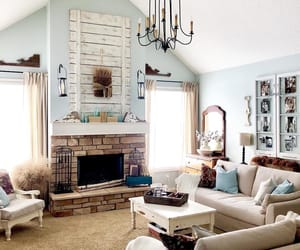 home decor, interior decorating, and living room image