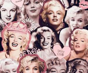 Marilyn Monroe, wallpaper, and Collage image