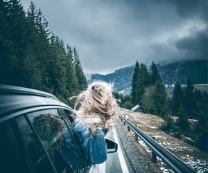 road, travel, and roadtrip image