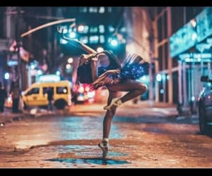 ballet, city, and dance image