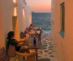 Greece, ocean, and travel image