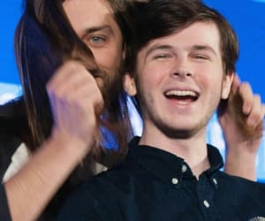 tom payne and chandler riggs image