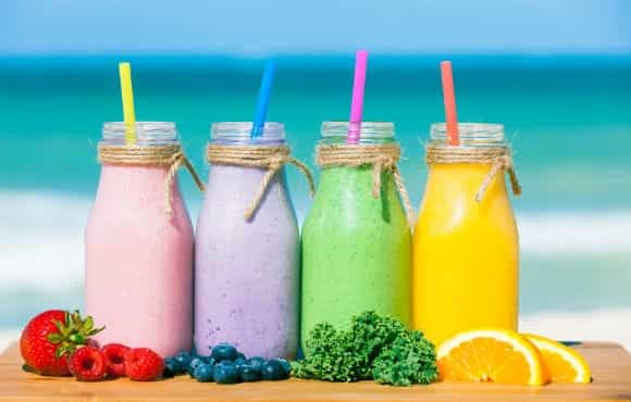 article, weight loss, and smoothies image