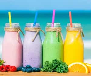 article, smoothies, and weight loss image