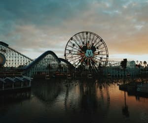 aesthetic, funfair, and grunge image