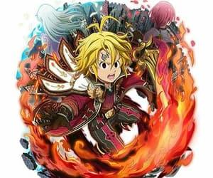 animes, nanatsu no tazai, and meliodas image