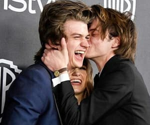 stranger things, charlie heaton, and netflix image