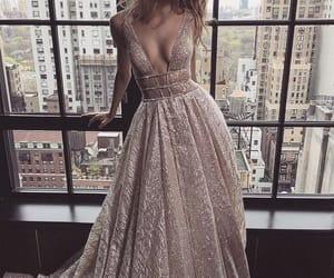 dress, fashion, and model image