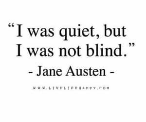 blind, jane austen, and qoute image