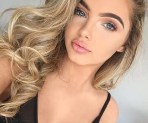 blonde, fashion, and makeup goals image