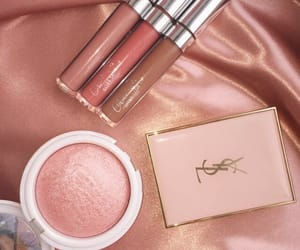 makeup, pink, and YSL image