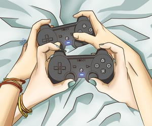 couple, games, and cute image