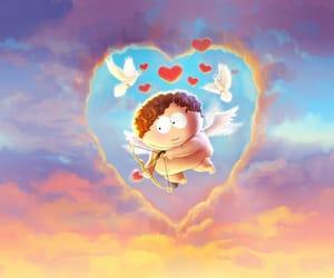 cartman, cartoons, and cupid image