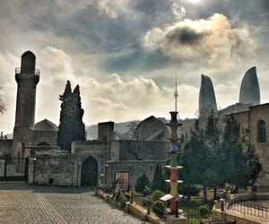 old city, baku, and azerbaijan image