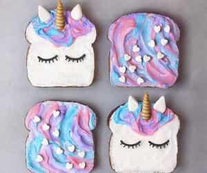 unicorn, food, and pink image