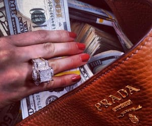 money, Prada, and luxury image
