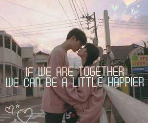 couple, happy, and korean image