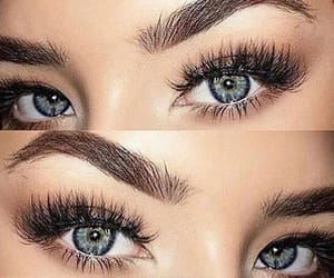 eyelashes and false eyelashes image