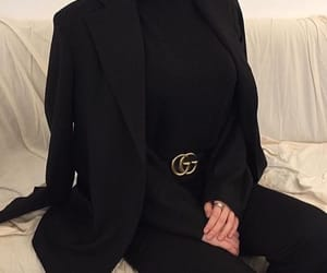 fashion, black, and gucci image