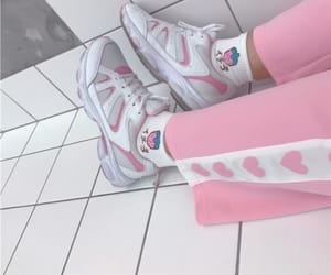 pink, aesthetic, and girl image