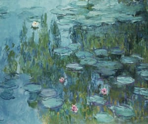 painting, art, and monet image