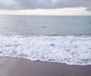 beach, waves, and beautiful image