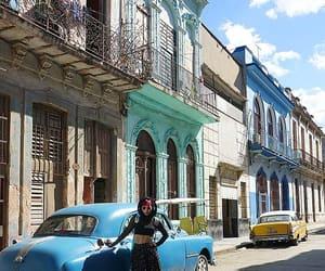 travel blogger cuba, old havana vintage cars, and havana women travelers image