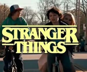 stranger things, theme, and eleven image