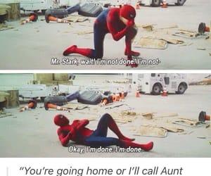 civil war, spiderman, and peter parker image